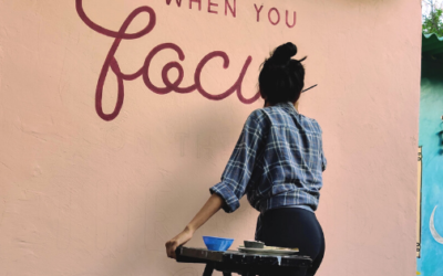 How to Paint an Outdoor Lettering Mural