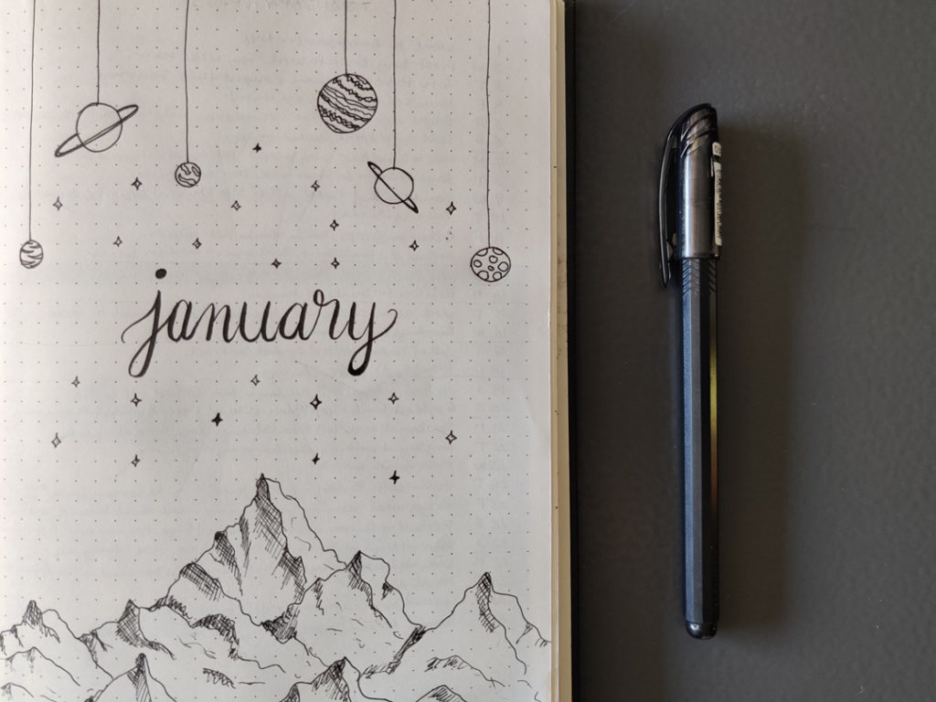 Learn how to make a bullet journal